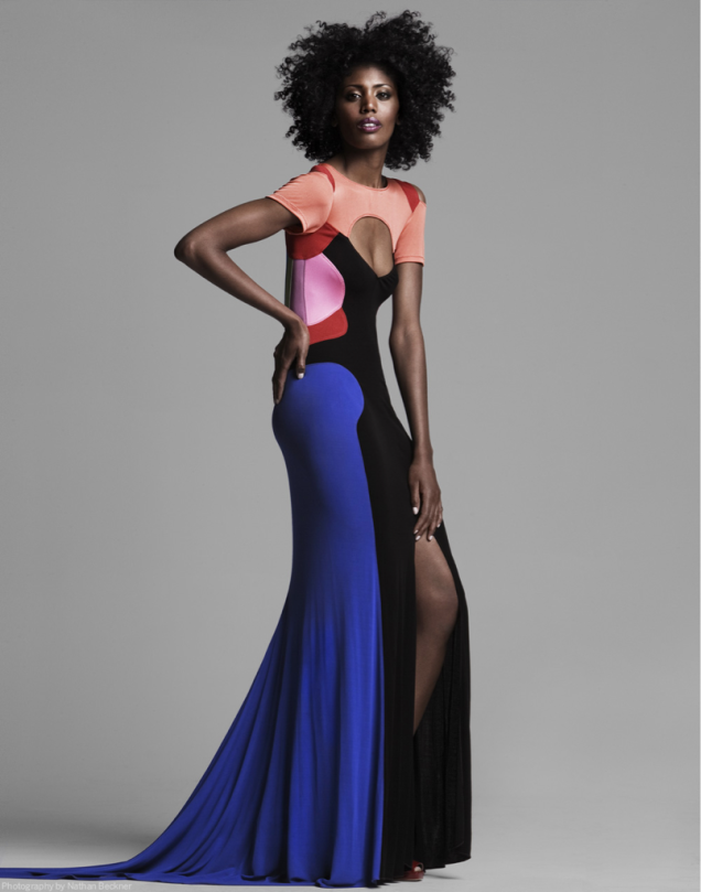 Classic Stephen Burrows: 70s Color Blocking