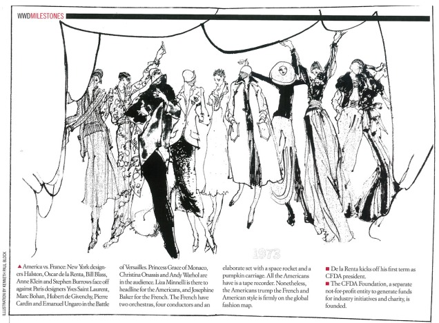 WWD Milestones Drawing 1973 Published October 2012