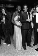 Bethann Hardison and Stephen Burrows Black and White
